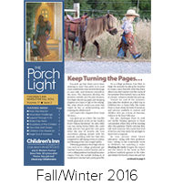The Porch Light, Fall 2016