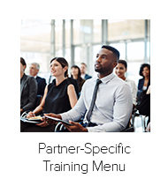Partner-Specific Training Menu