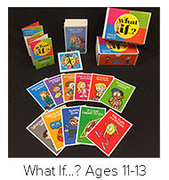 Learn More about What If...? Cards for ages 11-13
