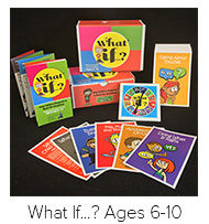 Learn More about What If...? Cards for ages 6-10